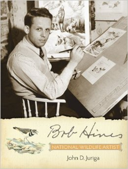 BOOK JACKET: Bob Hines - National Wildlife Artist
