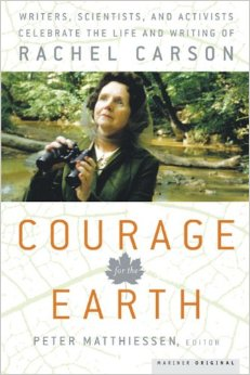 BOOK JACKET: Courage for the Earth
